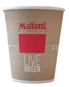 Kubek Musetti Live Green 270ml (9oz) 50szt.
